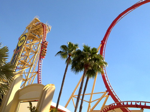 She wants to go on THIS *gulp* #universalstudios