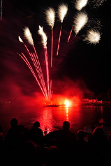 Press L (Fred Caiveau) Tags: red reflection fire day fireworks 4th july works independence