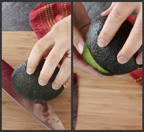 How to: Prepare an Avocado Collage 1