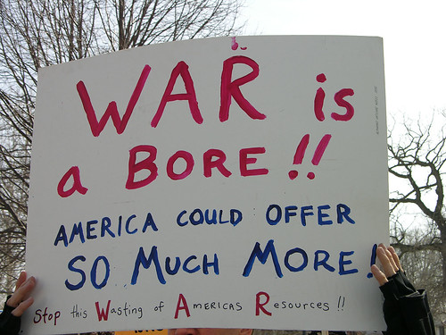 WAR - Wasting of Americas Resources
