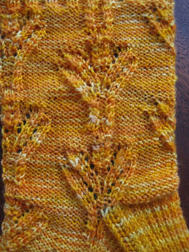 Bouquet Sock- Close Up