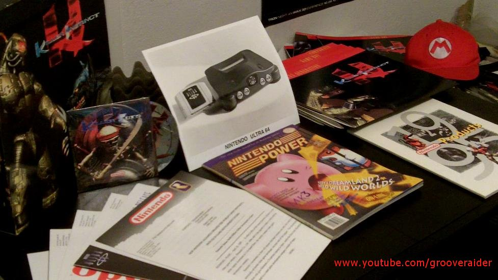 E3 1995 - Nintendo Media Press Kit - Killer Instinct (SNES) - Ultra 64 - first unveiling
