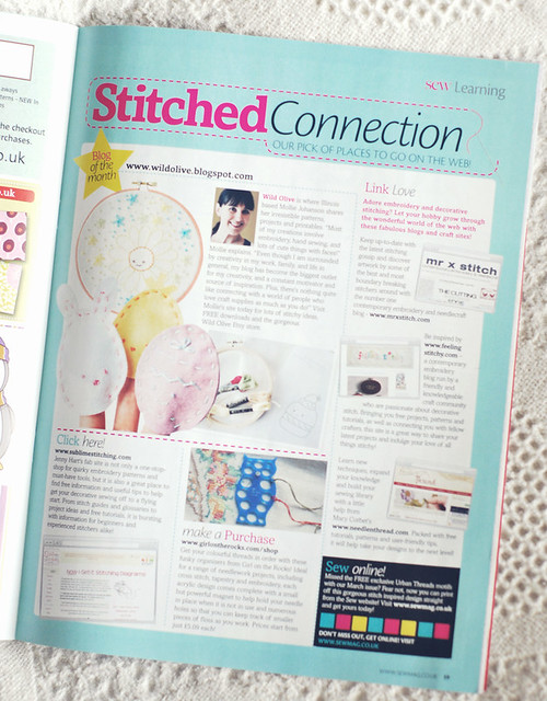 Sew Magazine Blog of the Month!
