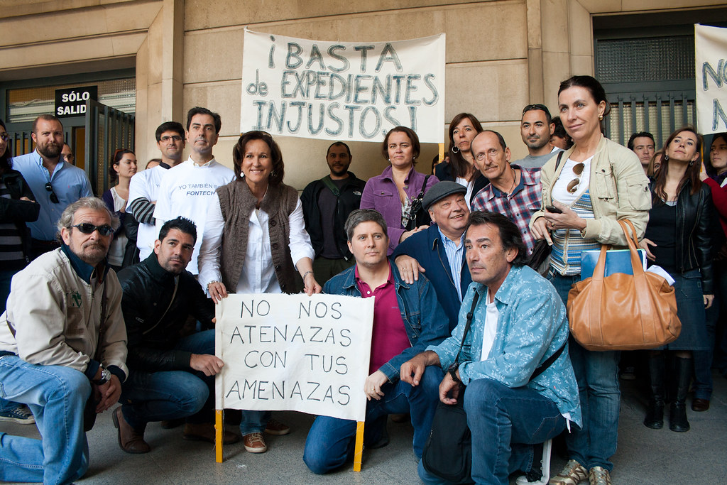 Controladores en los Juzgados de Sevilla en apoyo a Fontecha