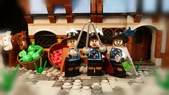 One for all ,and all for one ! (Legoagogo) Tags: lego 4 series minifig minifigure moc afol musketeer