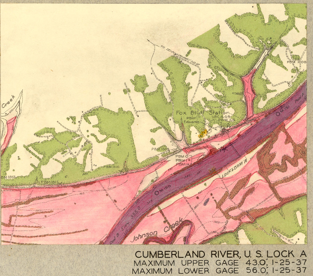 The Worlds Most Recently Posted Photos Of Engineers And Map - Cumberland river on us map