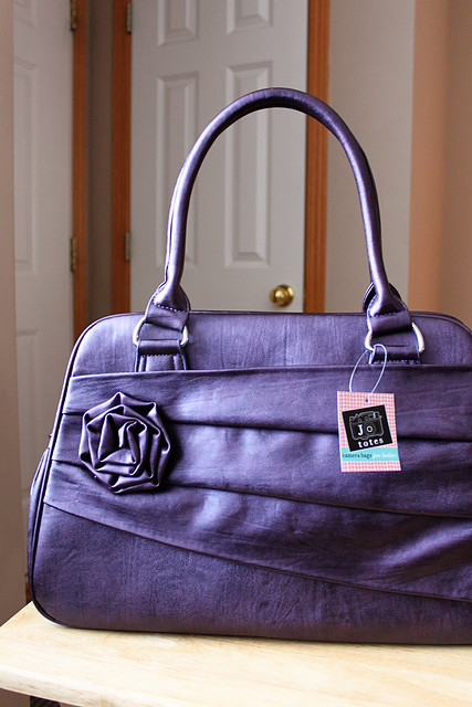 My new Jo Tote camera bag in Moonbeam...LOVE!