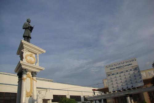 Mabini monument.