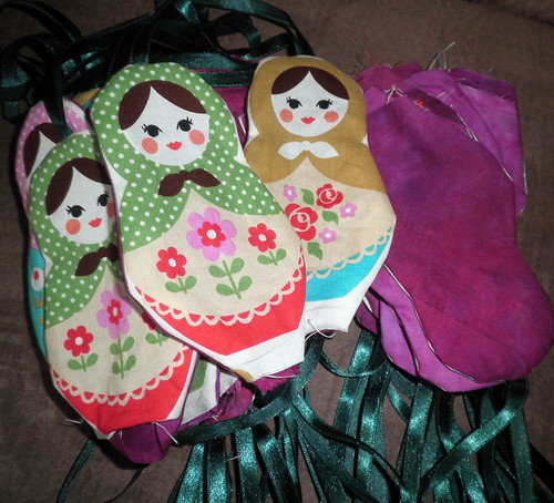 Matryoshka Doll Ornaments