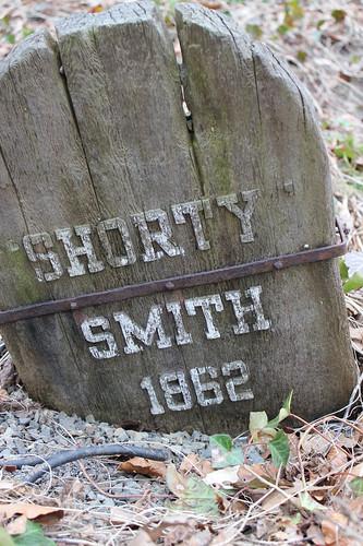 Shorty Smith's grave