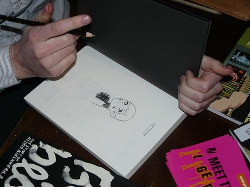 Baby's in Black – Arne sketches by SelfMadeHero