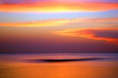 English Channel near Birling Gap after sunset (Alan MacKenzie) Tags: sunset sea englan