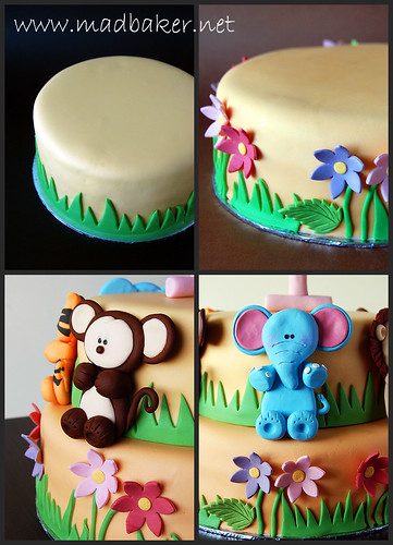 Birthday Cake Collage
