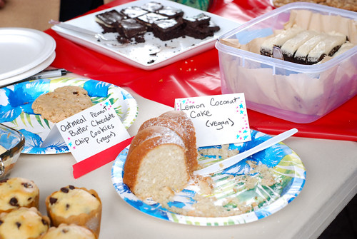 Japanese earthquake relief bake sale