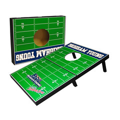 BYU Folding Cornhole Game Set