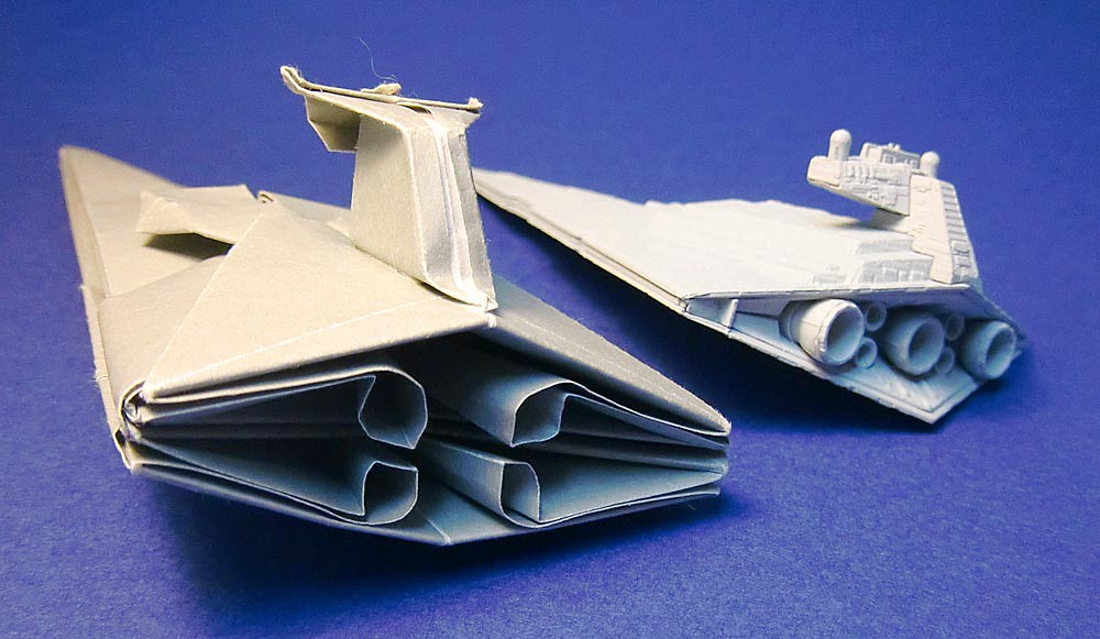 origami star wars ships instructions