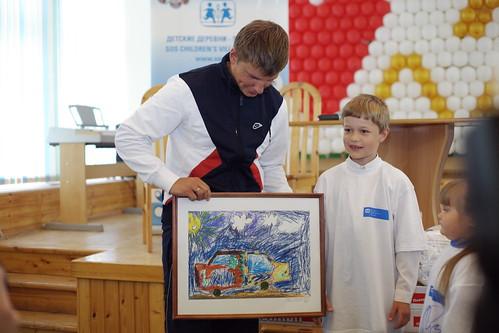 Андрей Аршавин - FIFA посол Детских деревень-SOS Россия