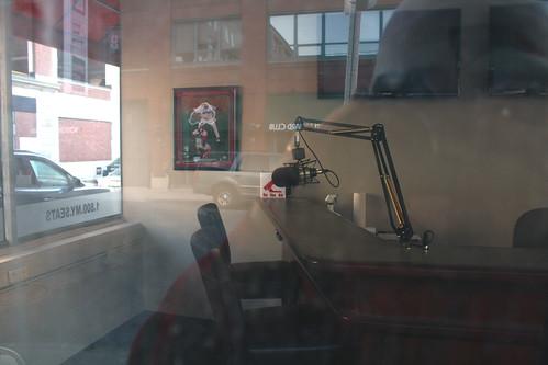 Empty 98.5 studio