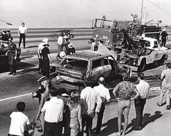 Traffic accident with auto Fire FS 90 Sherman Way And Havenhurst 2 Child Fatalities Circa 1970s