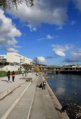 Wipkingerpark (Zrich), CH (Avenue'86) Tags: river waterfront steps promenade banks limmat rivier anlage wipkingerpark zurichsuisseschweizswitzerlandzwitserlanderpelschottavenue86avenue2011marchmarzmaart