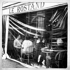 Le Rostand * Paris (sistereden2) Tags: square nb iphone4 hipstamatic