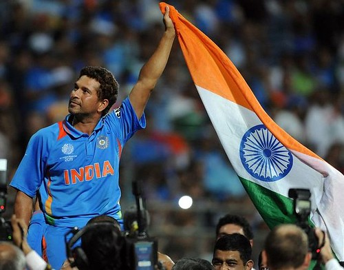 Sachin wins Cricket World Cup