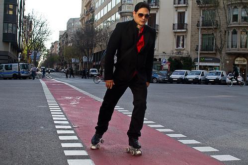 Sin motor es más rápido: Movilidad independiente en patines