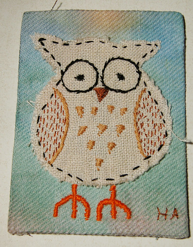 Embroidered Owl 01
