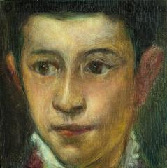 L'enfant2 (d'après Titien) cp25x25 (bernard_villalonga) Tags: copies titien