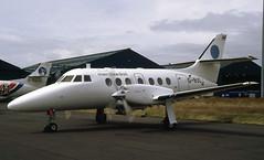 G-BUDJ. Thai Dept of Civil Aviation British Aerospace Jetstream 3212 (Ayronautica) Tags: gbudj britishaerospacejetstream3212 thaidepartmentofcivilaviation turboprop aviation pik egpk prestwick scanned june 1992 ayronautica 960