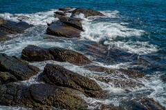 Rocks and waves (h329) Tags: 50mm aposummicronasph f20 keelung taiwan wave rock sea  leica m