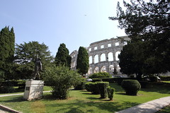 Pula amphitheatre. (Chris Firth of Wakey.) Tags: pula ampitheatre pulaampitheatre istria croatia