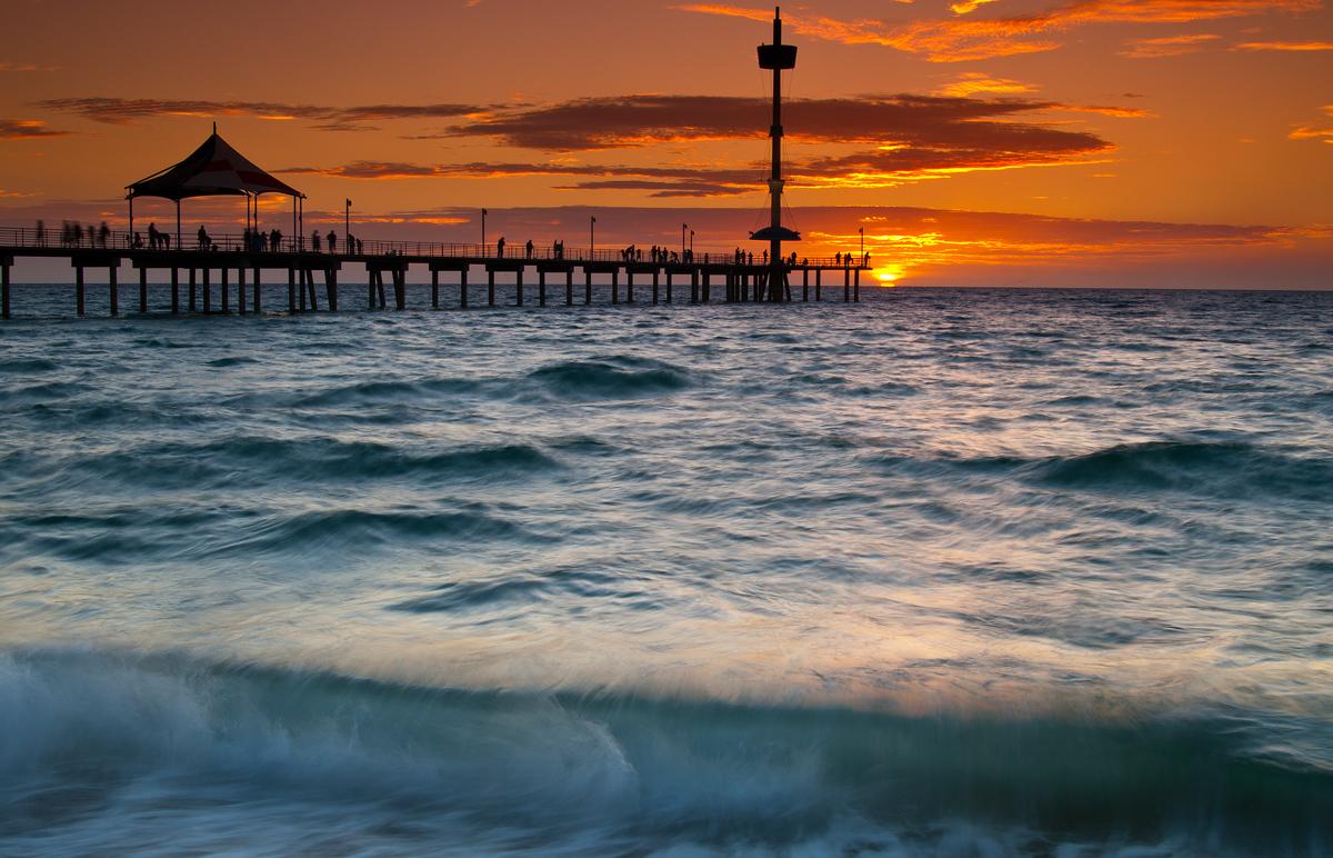 Brighton Sunset - South Australia