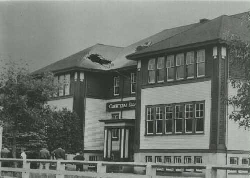 courtenay elementary earthquake 1946