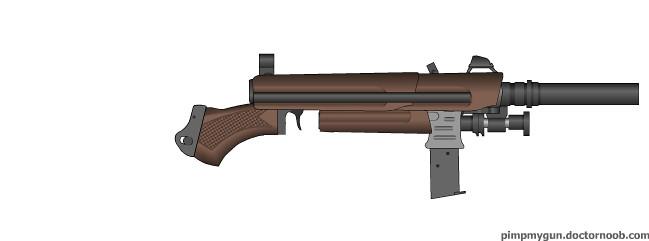 Deiselpunk Tank rifle