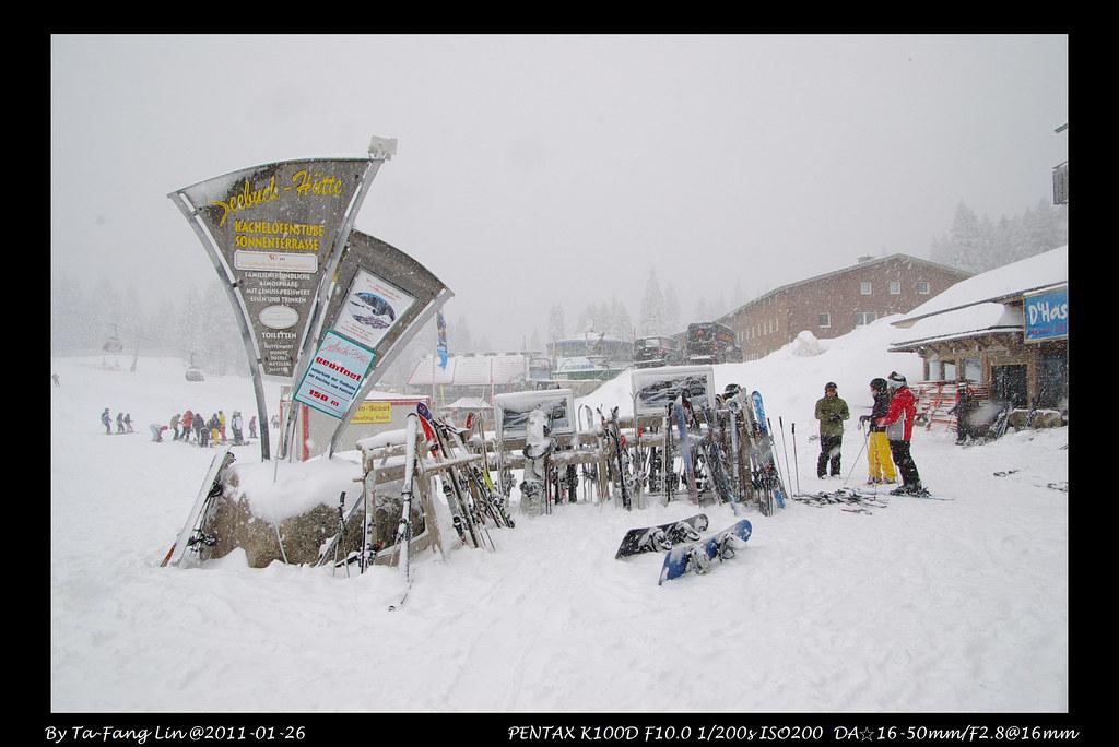 Feldberg, 雪景 with DA☆16-50/2.8