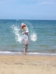 A nice day for a stroll on the beach........