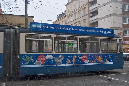 Detailaufnahme der Sealife-Werbung bei P-Wagen 2010