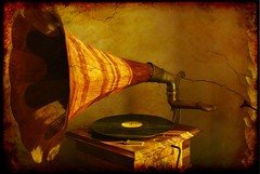 The old gramophone / La vieja gramola.- (ancama_99(toni)) Tags: pictures barcelona old espaa abstract color history texture yellow sepia photoshop 35mm vintage geotagged photography gold photo spain nikon espanha europa europe foto arte photos antique bcn picture photographic catalonia textures artnouveau fotos gaudi gaud layers catalunya fotografia nikkor espagne barcellona catalua catalan spanien casamila gramophone barcelone spagna pasoscatalans lapedrera 1000views  antoniogaud fotografas d60 casamil antonigaud catalogne 2011 gramola 10favs 10faves nikond60  25favs 25faves  ltytr1 holidaysvacanzeurlaub ancama99 lexample saariysqualitypictures mygearandme