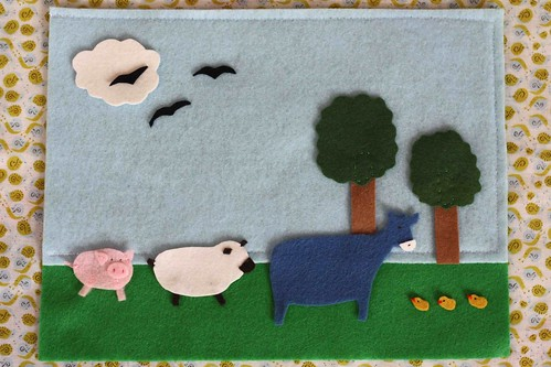 Farm Yard Playmat