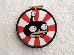 Nibbler (stitchFIGHT) Tags: crossstitch futurama nibbler xstitch