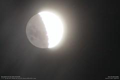 NanoSail-D and the Moon Over Buenos Aires, Argentina (NASA, Solar Sails, 01/27/11) (NASA's Marshall Space Flight Center) Tags: nasa solarsail marshallspaceflightcenter spaceweathercom amateurastronomy nanosaild