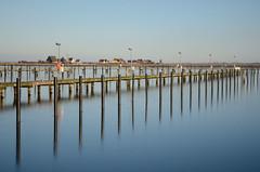 Marina In Winter - Yachthafen im Winter (capribeach1) Tags: winter reflection germany nikon wasser blau ostsee spiegelung januar 1870 heiligenhafen d7000