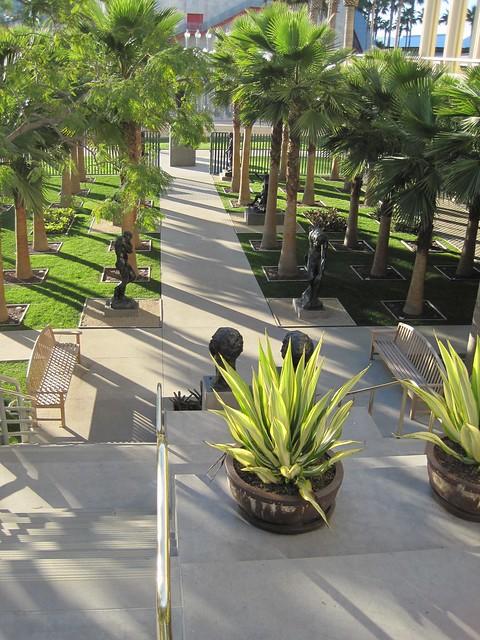 B. Gerald Cantor Sculpture Garden, LACMA