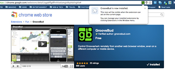 Control Grooveshark from anywhere with Groovebud & your iPhone