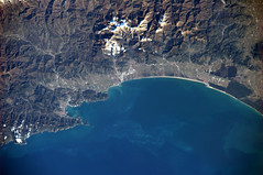 Le Cinque Terre (astro_paolo) Tags: italy italia nasa iss esa internationalspacestation earthfromspace europeanspaceagency expedition26 magisstra