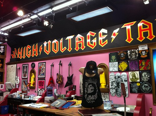 High Voltage Tattoo Los Angeles