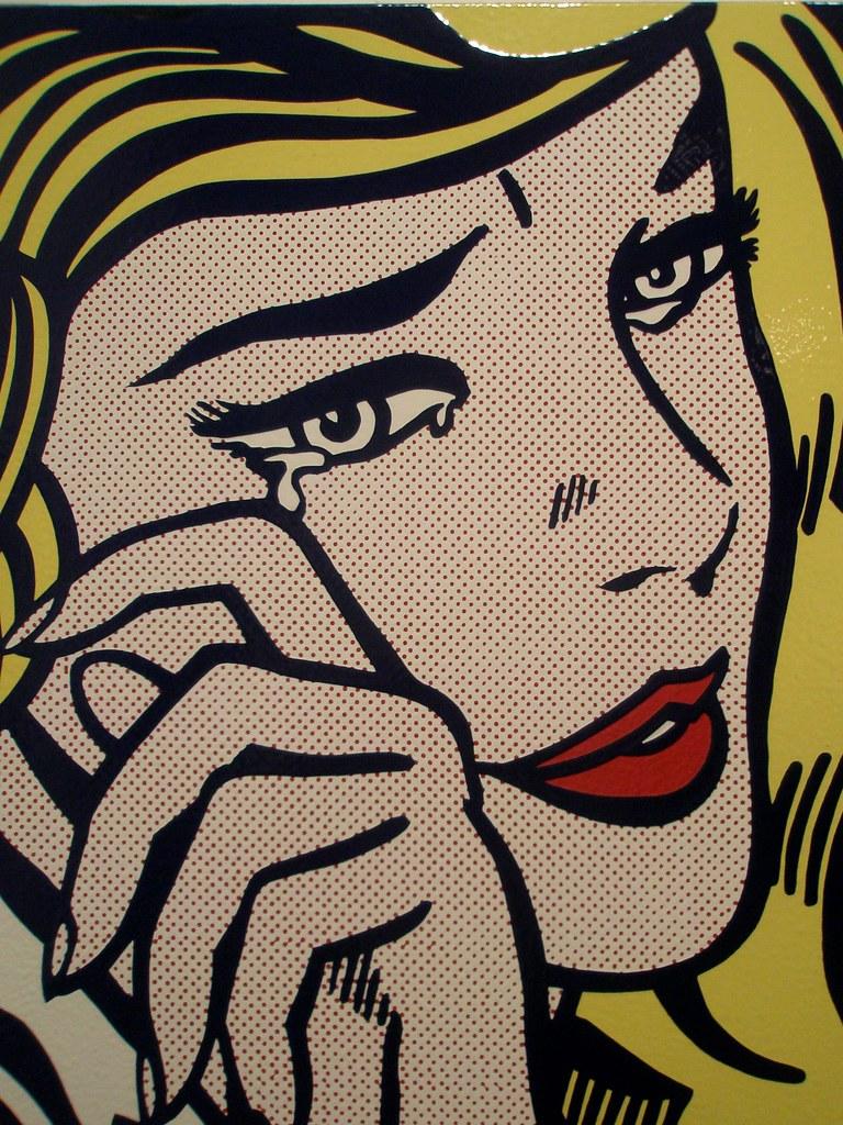 Roy Lichtenstein 'Crying Girl', 1964, Milwaukee Museum of Art, Milwaukee, Wisconsin