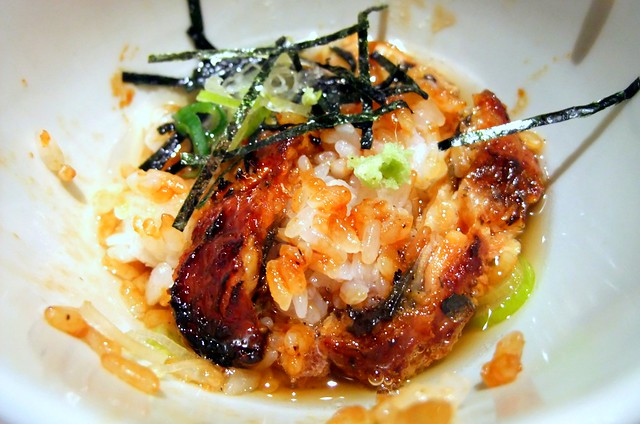 3rd Style: Unagi with Seaweed and Tea
