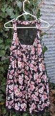 11 large print floral dress